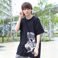【AFYF ON GILDAN社】 RAINBOW BEAR T SHIRT [BLACK]