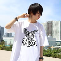 【AFYF ON GILDAN社】 SOUVENIR T SHIRT3 FACE [BLACK/WHITE] / 4T20031802