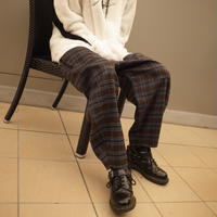 【AFYF】ALADIN PANT[CHECK-BRW×GRY×NVY]