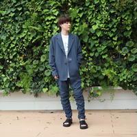 【CLASSIC ROV】 TROPICAL (清涼スーツ素材) TAILORED JKT [BLUE]