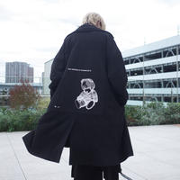 【AFYF】SWEADE PATCH COAT[BLACK]/8C20092002