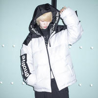 【AFYF】TAPING PACHING WINTER JACKET[GREY]