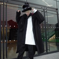 【AFYF】 MEGA BUTTON COAT[BLACK]