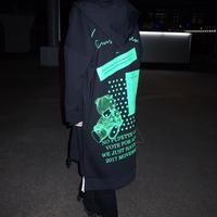 【AFYF】EXTRA ZIP PARKA[BLACK/GREEN]