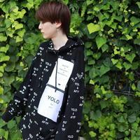 【AFYF】10 OZ SWEAT BIG PARKA [SWAK-BLACK]