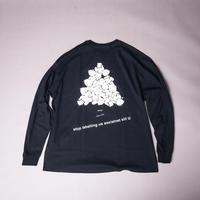 【AFYF ON GILDAN社】SOUVENIR LS T SHIRT1 [BK-TSUMBEAR]