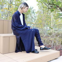 【ROVTSKI】SHARE ROOM SHIRT COAT for ROOM[NAVY ]