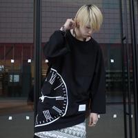 【AFYF】TRIANGLE GRAPHIC [CLOCK BLACK]