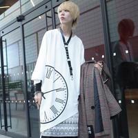 【AFYF】TRIANGLE GRAPHIC [CLOCK WHITE]