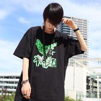 【AFYF ON GILDAN社】 SOUVENIR T SHIRT3 FACE [NEON GREEN/BLACK] / 4T20031802