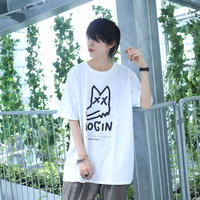 【AFYF ON GILDAN社】 SOUVENIR T SHIRT3 PEKE DOG [WHITE]