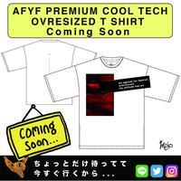 【AFYF】PREMIUM COOL TECH (冷感接触素材) OVRESIZED T SHIRT 2 [AGAINST-WHT]