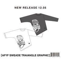 【AFYF】SWEADE TRIANGLE GRAPHIC