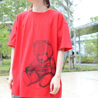 【AFYF ON GILDAN社】 RAINBOW BEAR T SHIRT [RED]