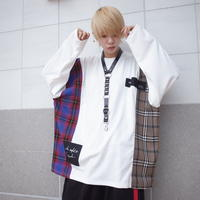 【AFYF】TRILINGUAL LONG SLEEVE TEE[OFF WHITE]/7C19062413