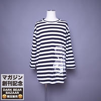 ダークベアーバザール 限定生産アイテム【AFYF】 SPECIAL RAYON  8/10 SLEEVE TEE 【DARK BEAR-WHITE/BLACK】