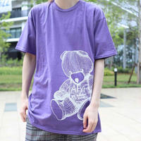 【AFYF ON GILDAN社】 RAINBOW BEAR T SHIRT [HEATHER PURPLE] / 4T20031801