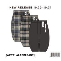 【AFYF】ALADIN PANT / 7B20090502
