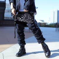 【CLASSIC ROV】 TROPICAL (清涼スーツ素材) SHIRRING PANT [NAVY]