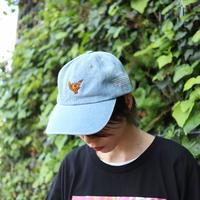 【AFYF ON NEWHATTAN社】 SMELLS LIKE  CAP [MGO-LIGHT DENIM]