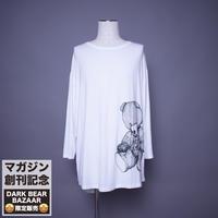 ダークベアーバザール 限定生産アイテム【AFYF】 SPECIAL RAYON  8/10 SLEEVE TEE 【DARK BEAR-WHITE】