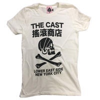The Cast/Cast Logo(White)