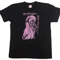 Original Tshirt in Black(Pink Ink)