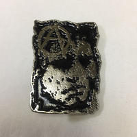 Discharge Metal Badge-A