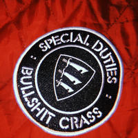 Special Duties Embroidered Patch
