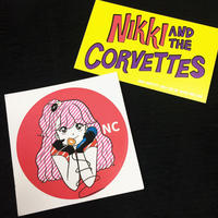 Nikki Corvette Sticker