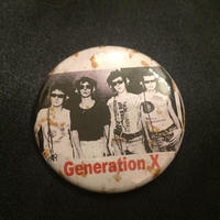 Generation X Button
