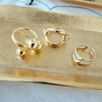 数量限定/hole gold ring
