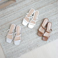 Two belt sandal