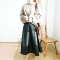 leather フレアSK