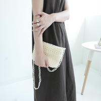 square pearl bag