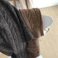 数量限定/AW knit cardigan