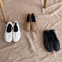 ギャザーフラットshoes