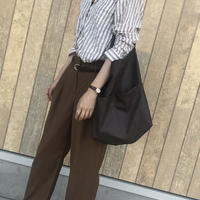 予約商品/brown big tote bag