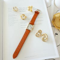 数量限定/Classic Rectangle Watch