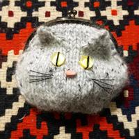 【ダウンロードレシピ】猫かおポーチ