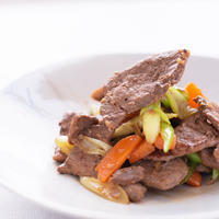 厚切り猪肉のにんにく味噌漬け~簡単調理!味付き猪肉シリーズ~