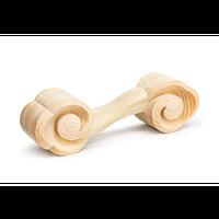 ClouD 木彫りのダンベル ヒノキ(無塗装) 2kg