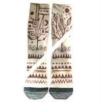 手描きHemp socks26-28cm