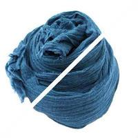 藍染めorganicガーゼのストール