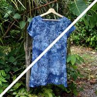 藍染めTシャツワンピ チュニック