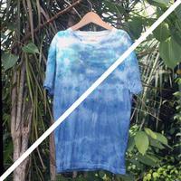 海の色 藍染 ピタTee S