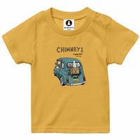 キッズ用 チムニーTシャツ(1号) バナナイエロー