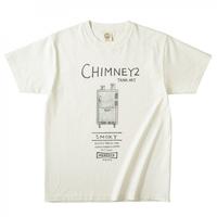 オーガニックコットンTシャツ CHIMNEY2