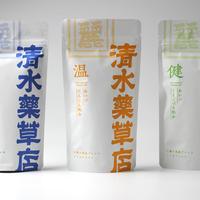 ブレンド茶「温」「健」「浄」3個セット 清水薬草店
