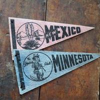 50sヴィンテージペナント(NEW MEXICO&MINNESOTA)
